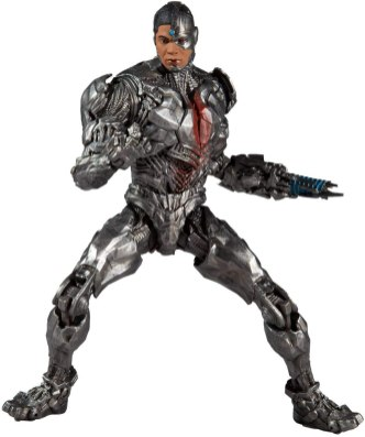 Zack Snyder's Justice League Cyborg DC Multiverse