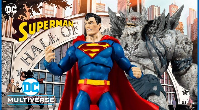 First Look | Superman vs The Devastator DC Multiverse 2-Pack