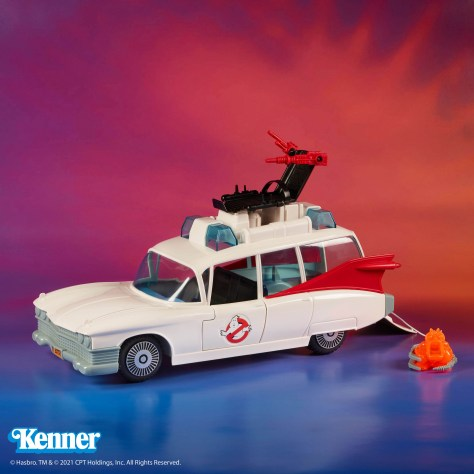The Real Ghostbusters Ecto-1 Kenner Hasbro Reissue