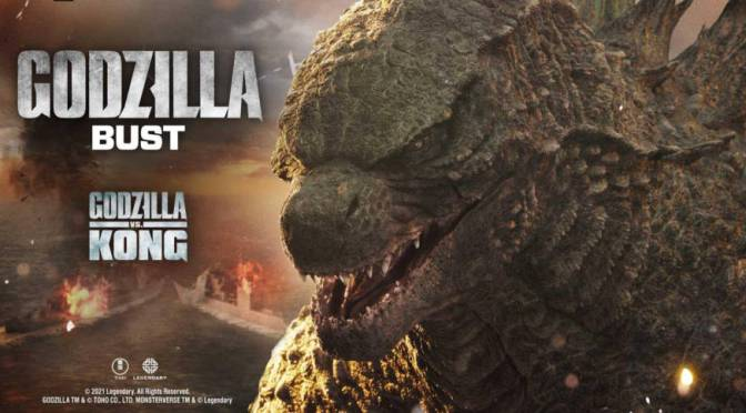 Godzilla vs Kong | New Godzilla Bust By Prime 1 Studio