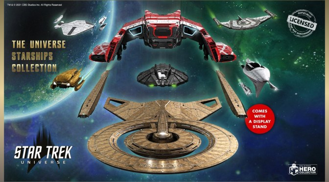 Hero Collector Star Trek Universe Starships Collection Featured