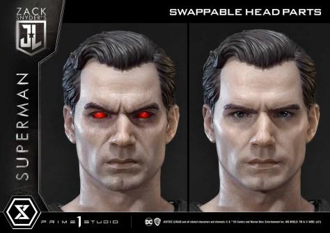 Prime 1 Black Suit Superman