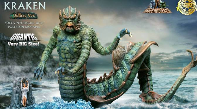 Clash Of The Titans | The Kraken Statue From X-Plus