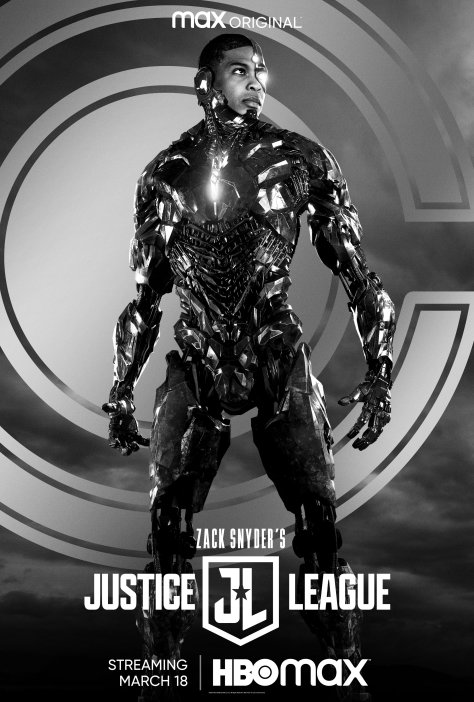 Zack Snyder's Justice League Cyborg Character Poster