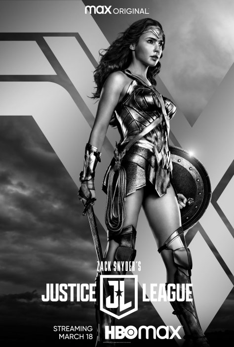 Zack Snyder's Justice League Wonder Woman Poster