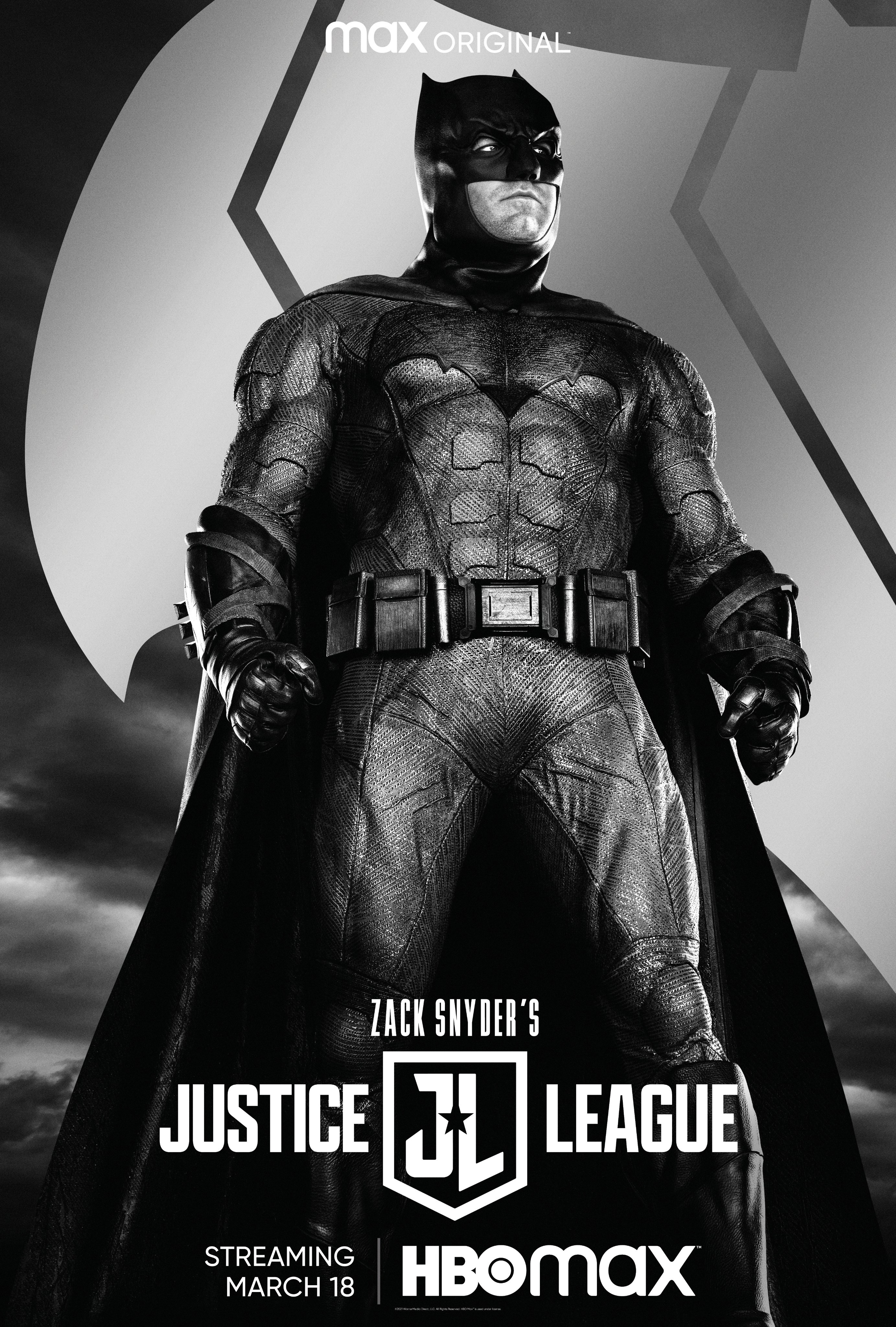 Zack Snyder's Justice League Batman Poster