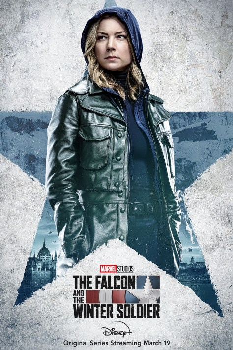 The Falcon And The Winter Soldier Character Poster - Sharon Carter