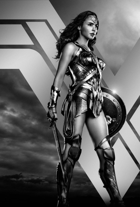 Zack Snyder's Justice League Wonder Woman Character Poster Textless