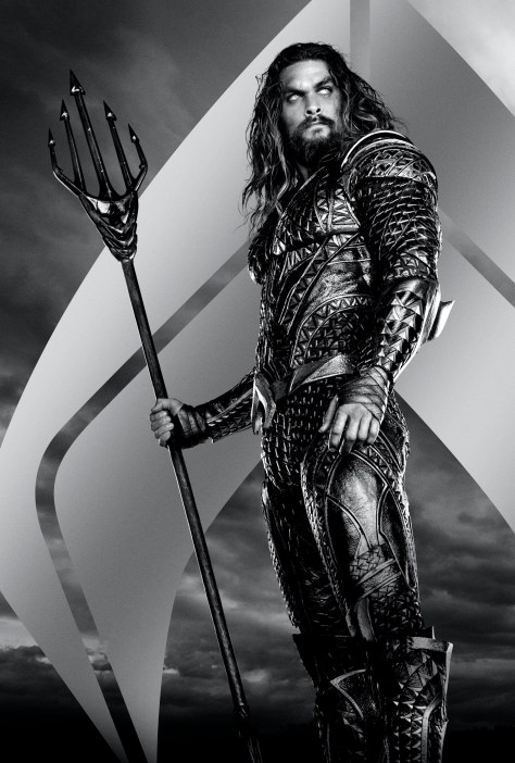 Zack Snyder's Justice League Aquaman Character Poster Textless
