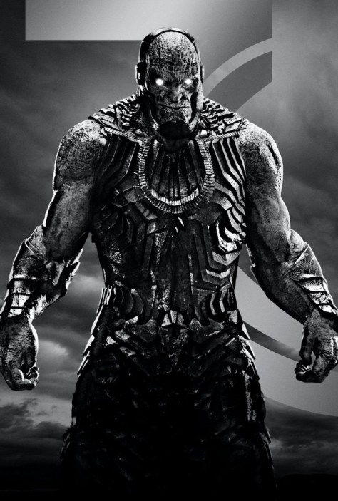 Zack Snyder's Justice League Darkseid Textless Poster