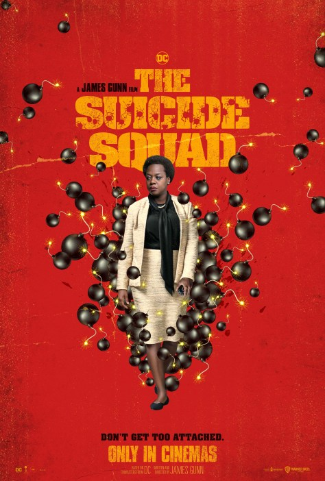 The Suicide Squad Amanda Waller Poster