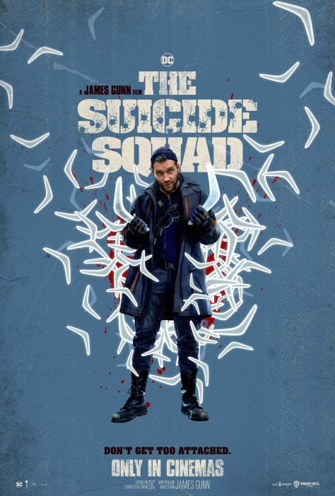 The Suicide Squad Captain Boomerang Poster
