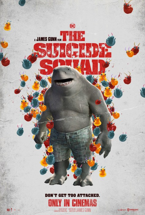 The Suicide Squad King Shark Poster