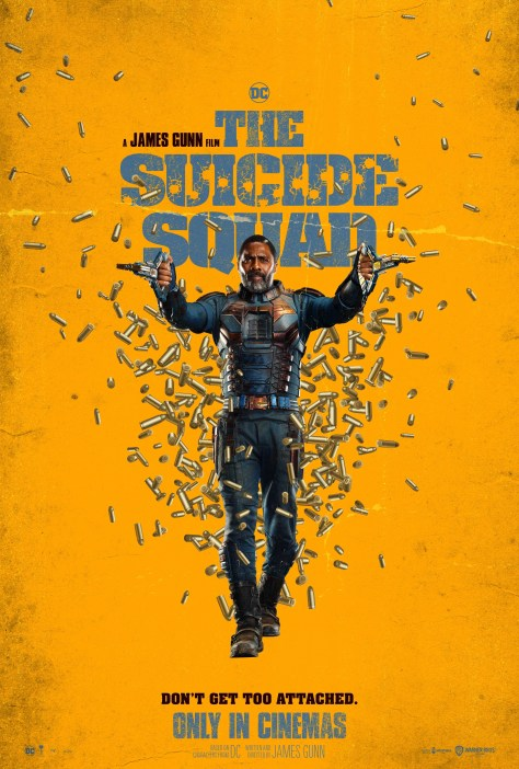 The Suicide Squad Bloodsport Poster