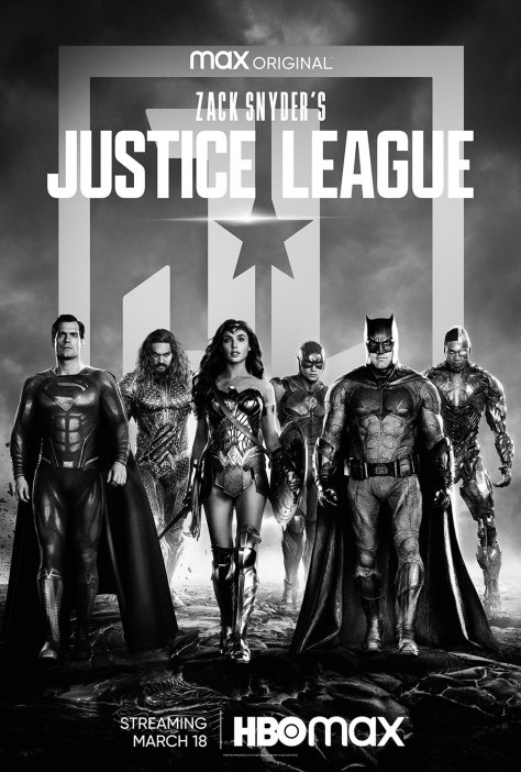 Zack Snyder's Justice League Key Art Poster