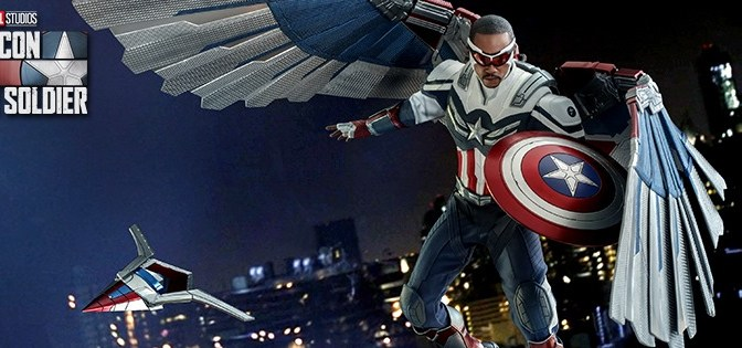 First Look | Hot Toys Captain America (The Falcon And The Winter Soldier)