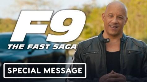 Vin Diesel's Special Message