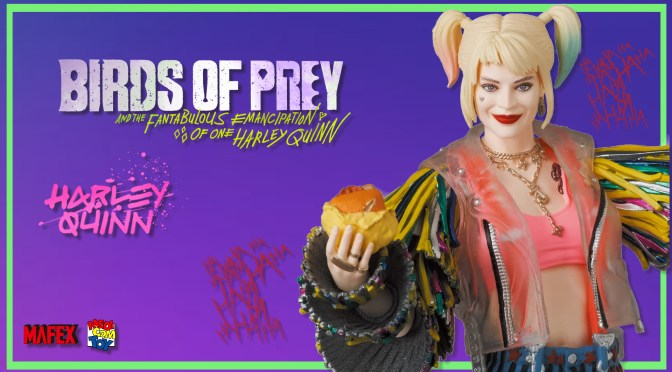 First Look | MAFEX Harley Quinn (Birds Of Prey) Caution Tape Jacket Version