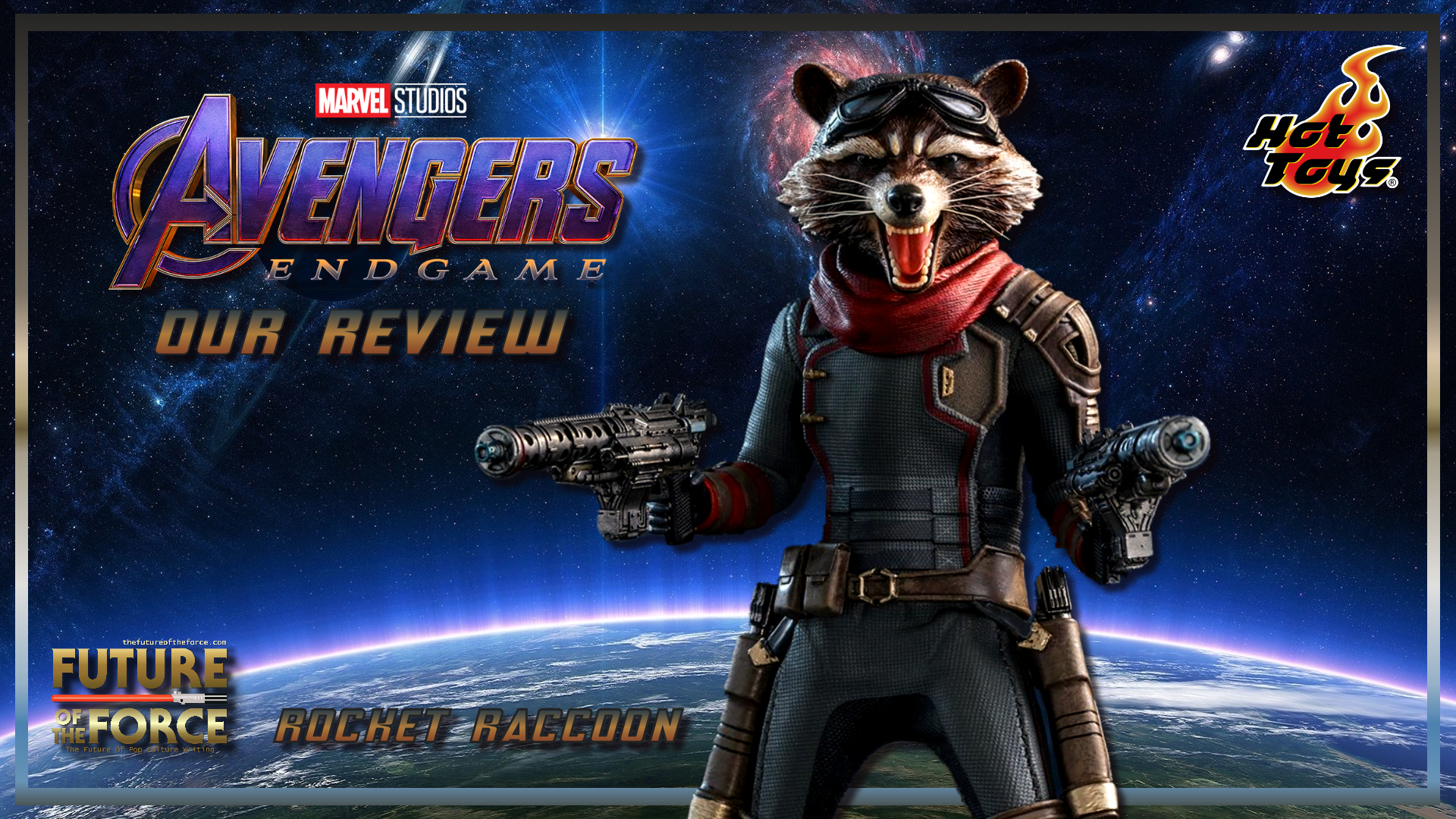 Hot Toys Review | Rocket (Avengers Endgame)