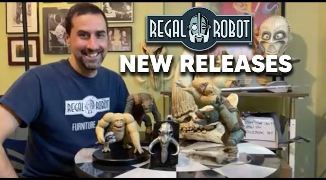 Live from Regal Robot 4/7/21 - Holochess Figure Sneak Peek!