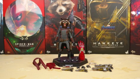 Hot Toys Review | Rocket (Avengers Endgame)
