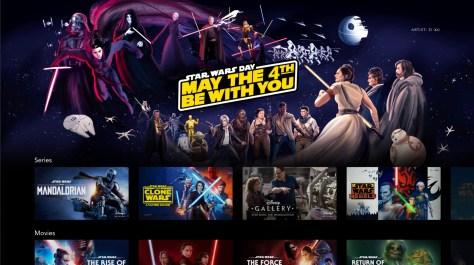 Sneak-Peek | New Star Wars Day Disney+ Artwork