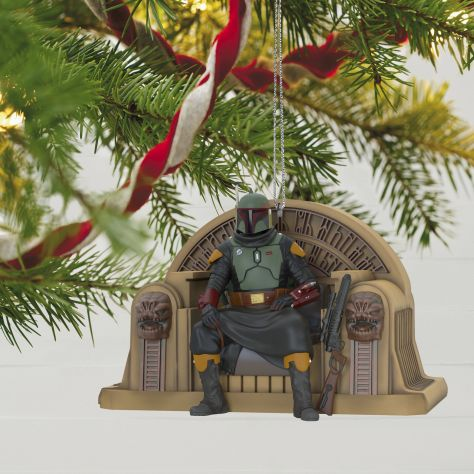Boba Fett Christmas tree ornament