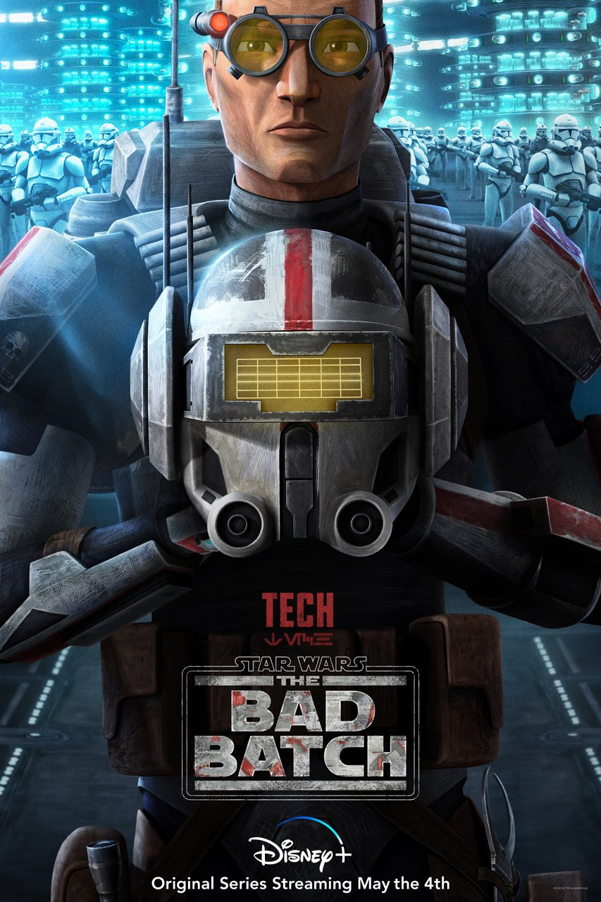 The Bad Batch - Tech Character Poster