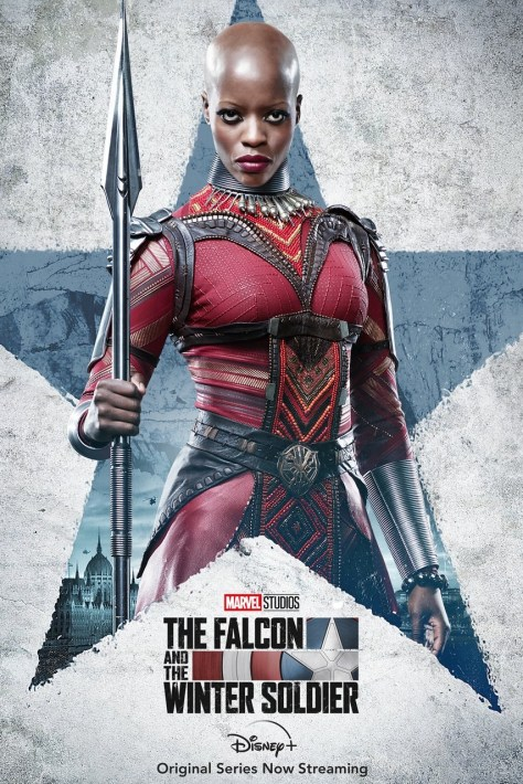 The Falcon And The Winter Soldier - Ayo Poster