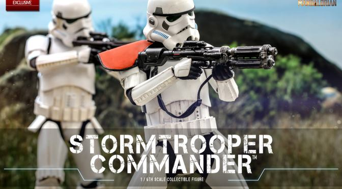 First Look | Hot Toys Stormtrooper Commander (The Mandalorian)