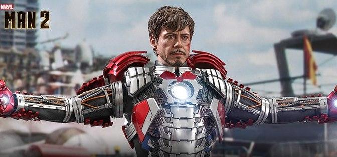 First Look | Hot Toys Tony Stark (Mark V Suit Up) (Iron Man 2)