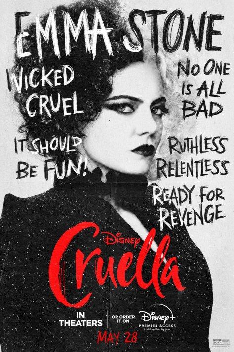 Cruella Character Poster