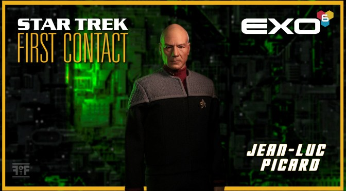 Star Trek: First Contact | Captain Jean-Luc Picard 1/6 Scale Figure