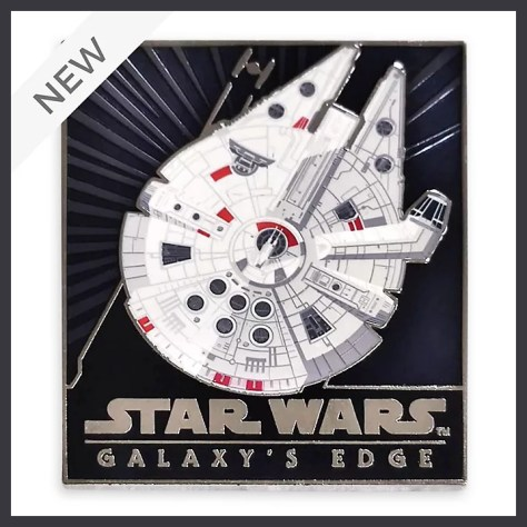 Star Wars Galaxy's Edge Millennium Falcon Pin