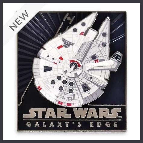 Star Wars Galaxy's Edge Millennium Falcon Pin