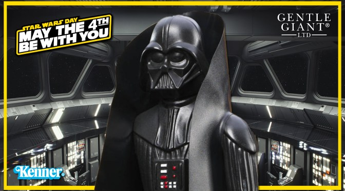 May The 4th | Star Wars Kenner Darth Vader Jumbo Statue Revealed!