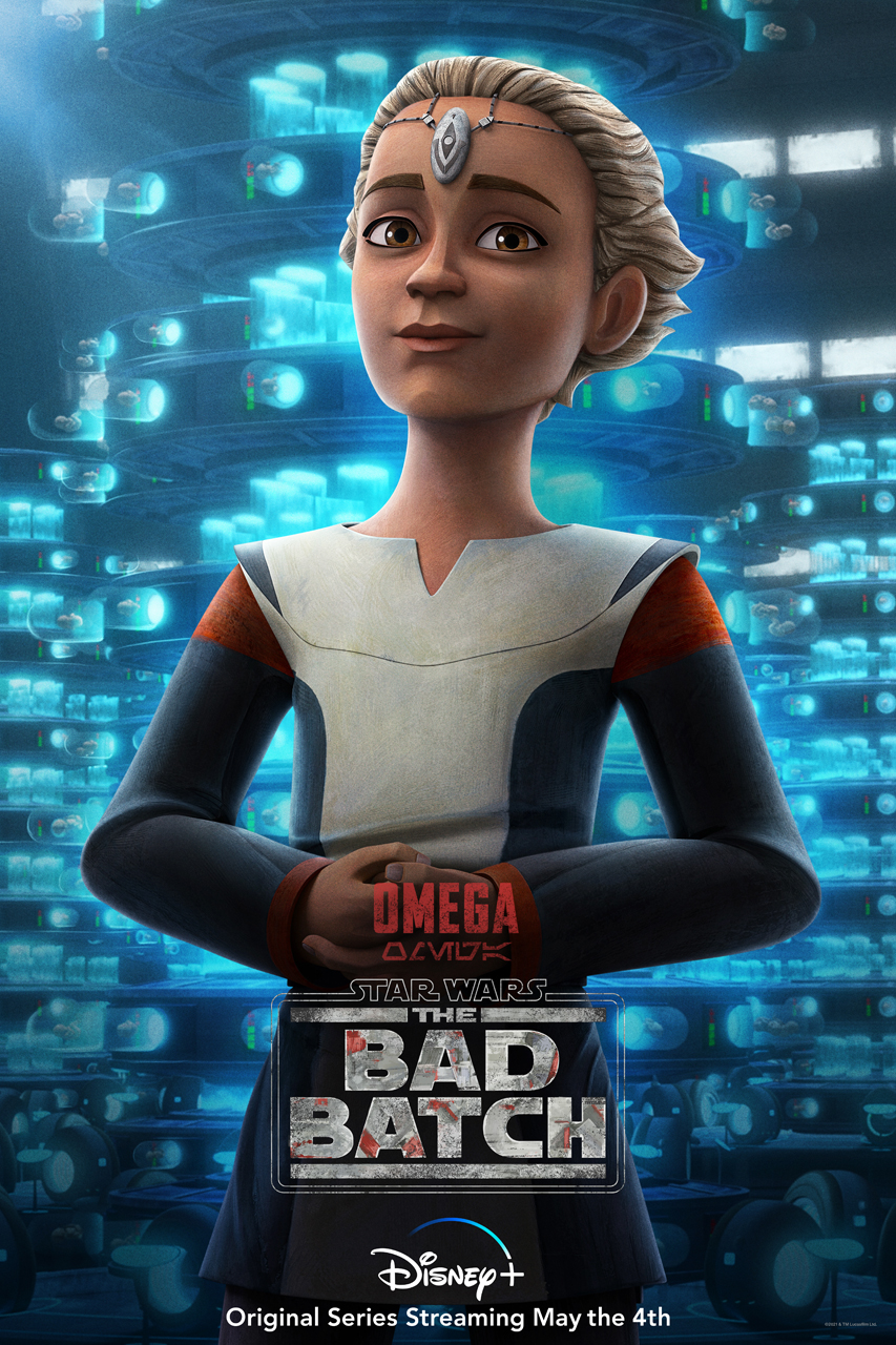 The Bad Batch - Omega Character Poster