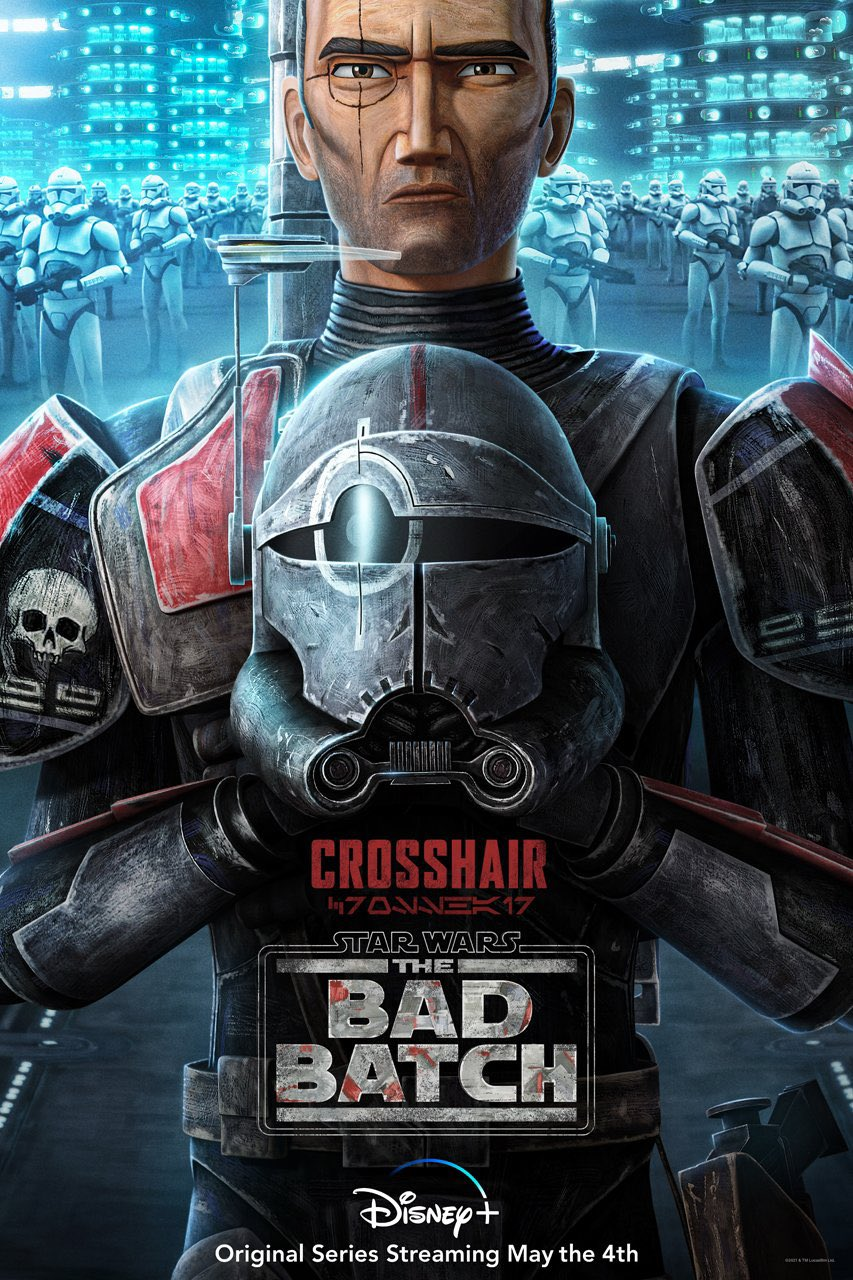 The Bad Batch Crosshair Poster