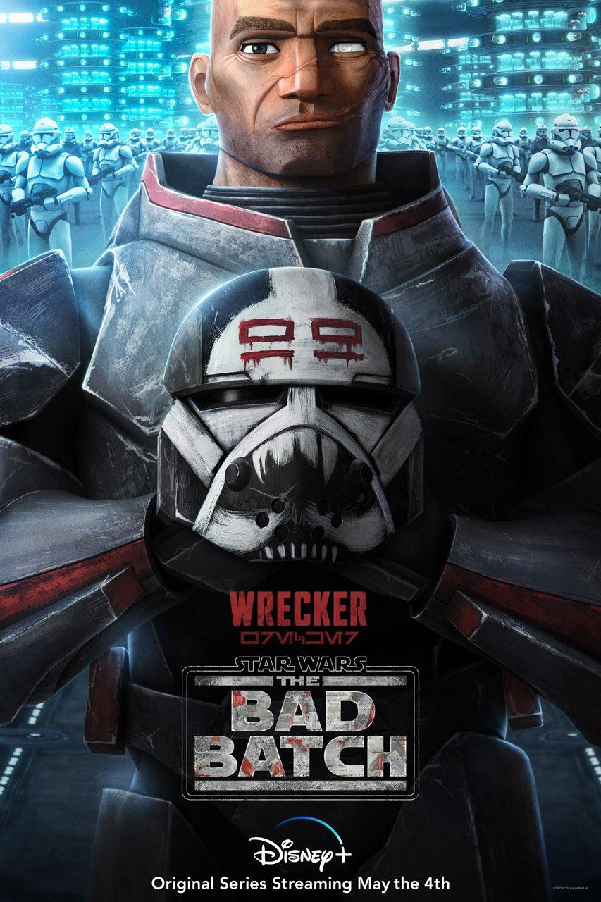 The Bad Batch Wrecker Poster