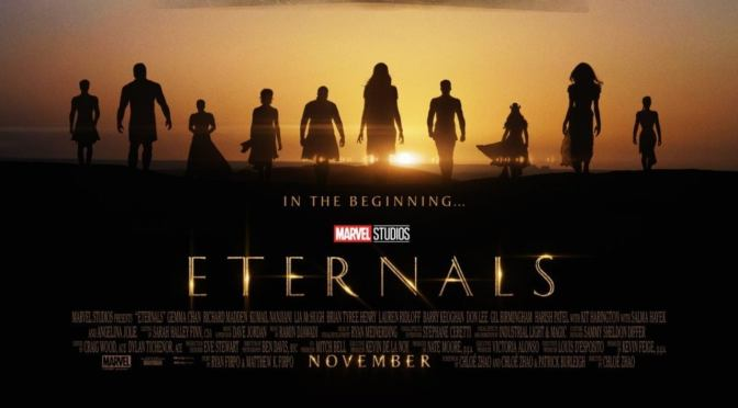 The First Trailer For Marvel Studios' Eternals Has Arrived