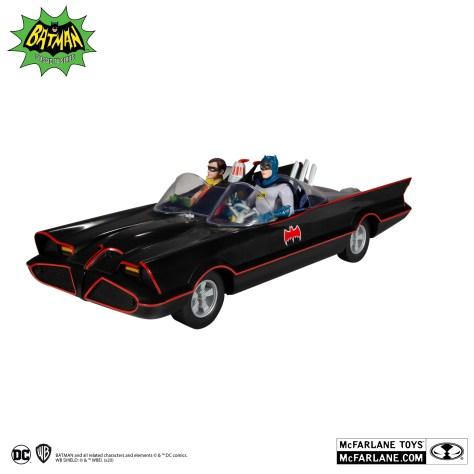 McFarlane Batman The Classic Series Retro Batmobile