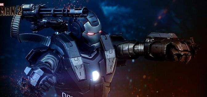 First Look | Hot Toys War Machine (Iron Man 2)