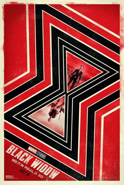 Black Widow Read D 3D Poster