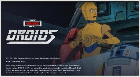 Thank The Maker | Star Wars: Droids Hits Disney Plus