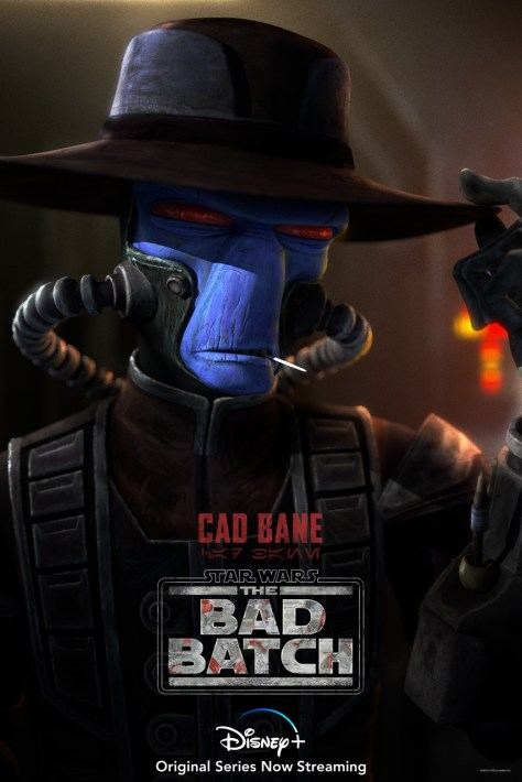 The Bad Batch Cad Bane Character Poster