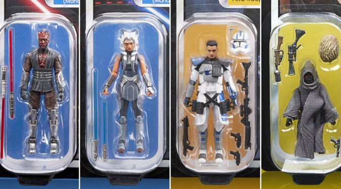 Hasbro Star Wars | The Vintage Collection Ahsoka and Maul Packaging Reveal