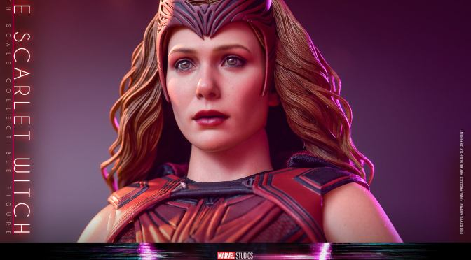 Hot Toys Updates The Scarlet Witch Head Sculpt