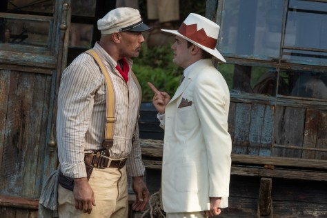 Dwayne Johnson and Jack Whitehall in Jungle Cruise