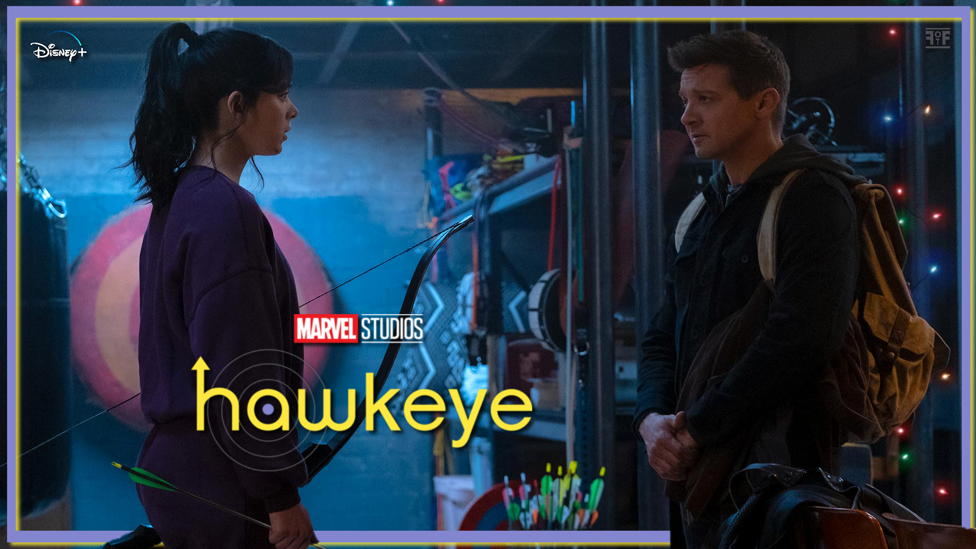 First Look | Clint Barton Meets Kate Bishop In Hawkeye