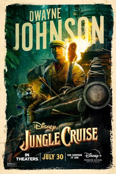 Dwayne Johnson Jungle Cruise Poster 2